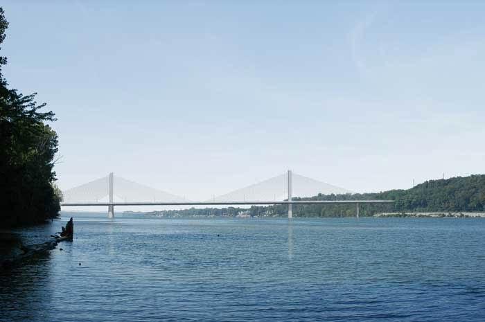 The planned East End Bridge. (Courtesy Bridges Authority)