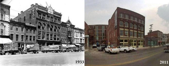 (Figure 1.) 309 E. Market St., Louisville, KY. (Courtesy UL Photographic Archives)