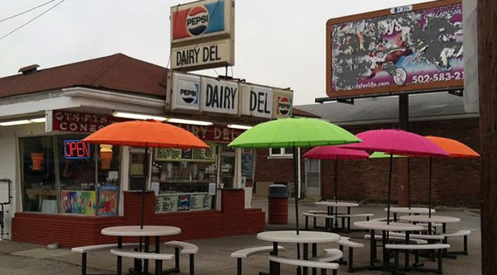 The Dairy Del on Shelby Street. (Courtesy Invested in Shelby)