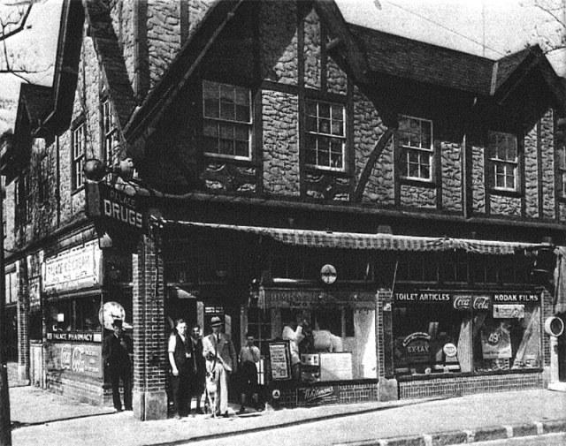 The Arden Building circa 1930. (Courtesy Alex Parets)