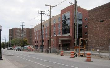 Wayside's new building in October 2014. (Branden Klayko / Broken Sidewalk)