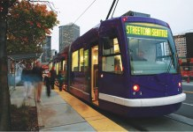 A streetcar in Seattle. (Courtesy T4A)