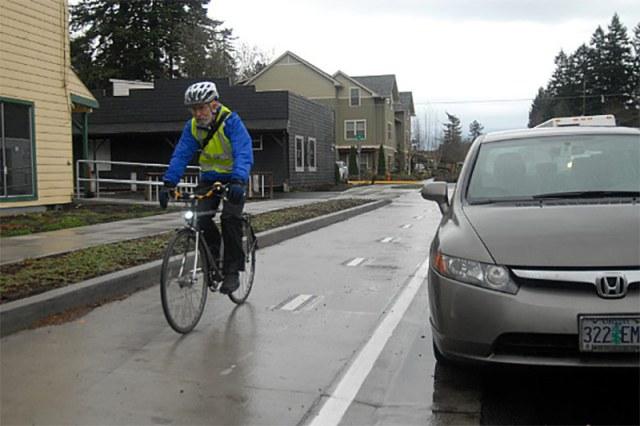 SW Multnomah Boulevard, Portland.