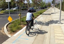 Rosemead Boulevard in Temple City, California. (Streetsblog L.A.)