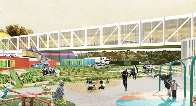 Rendering from OMA's original plan. (Courtesy Seed Capital KY)