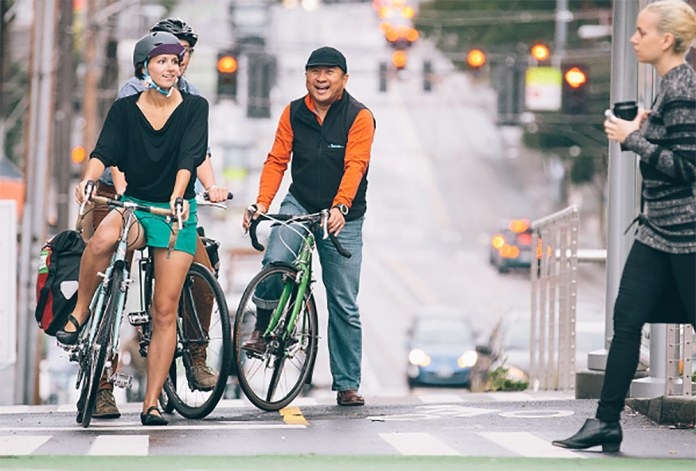Broadway, Seattle. (Courtesy PeopleForBikes)