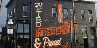 A mural on Bardstown Road. (Zepfanman.com / Flickr)