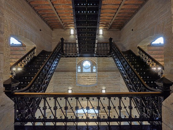 Inside the newly renovated Crescent Hill Gatehouse. (Brian Moberly Photography)