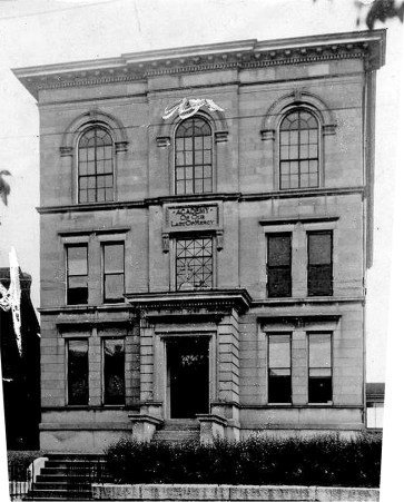 Mercy Academy before its modern additions. (Courtesy UL Photo Archives)