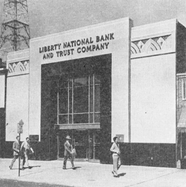 Liberty National Bank.
