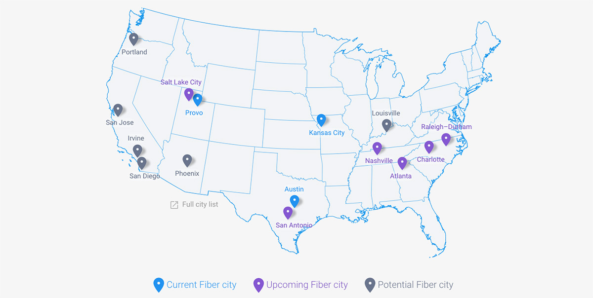 Us Long Haul Fiber Map Globalinterco - Us fiber map