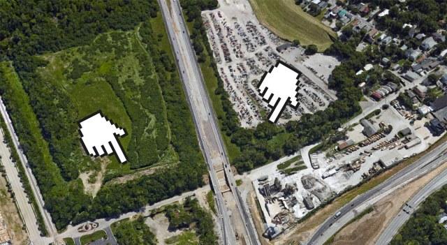 Fragment storage along Frankfort Avenue. (Courtesy Google)