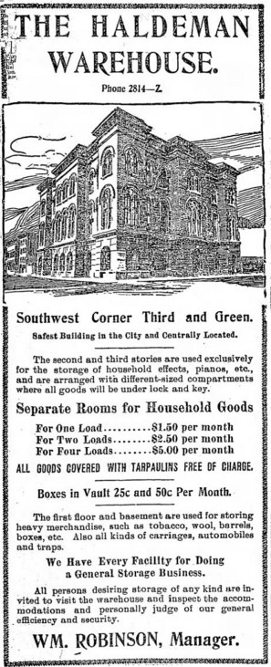 Anadvertisement from the Courier-Journal on Tuesday, July 9, 1901.