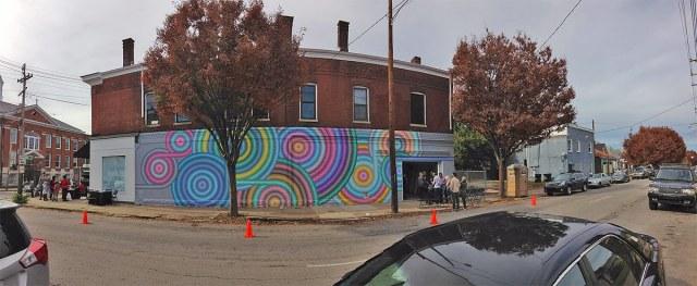 The entire mural fronting Shelby Street. (Elijah McKenzie / Broken Sidewalk)