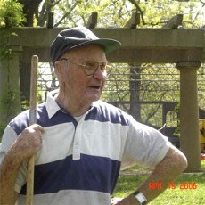 Jimmy Dillon in Central Park in 2006. (Courtesy Victorian Louisville)
