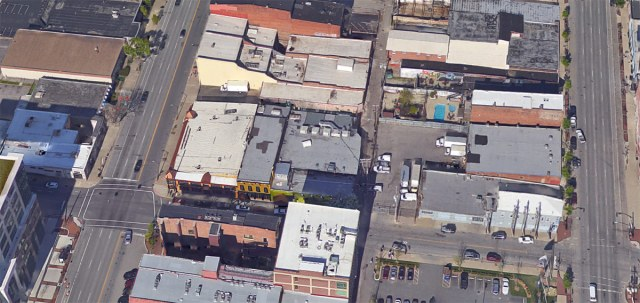 The COnnection site at Floyd and East Market streets. (Courtesy Google)