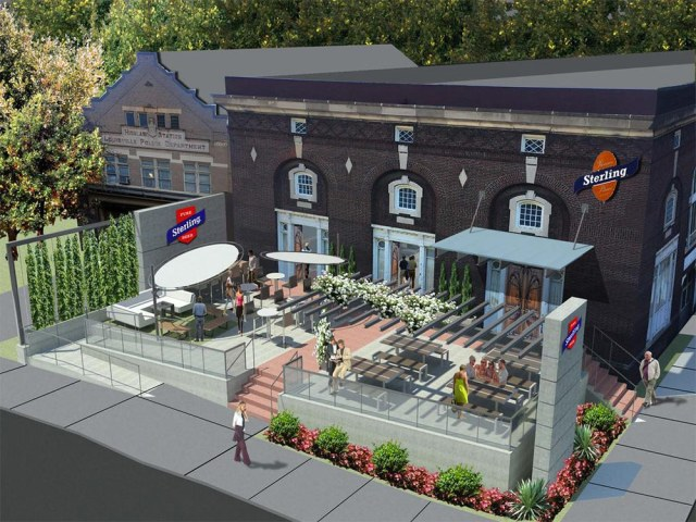 Concept rendering of what a taphouse on Bardstown Road could look like. (Tucker Booker Donhoff + Partners)