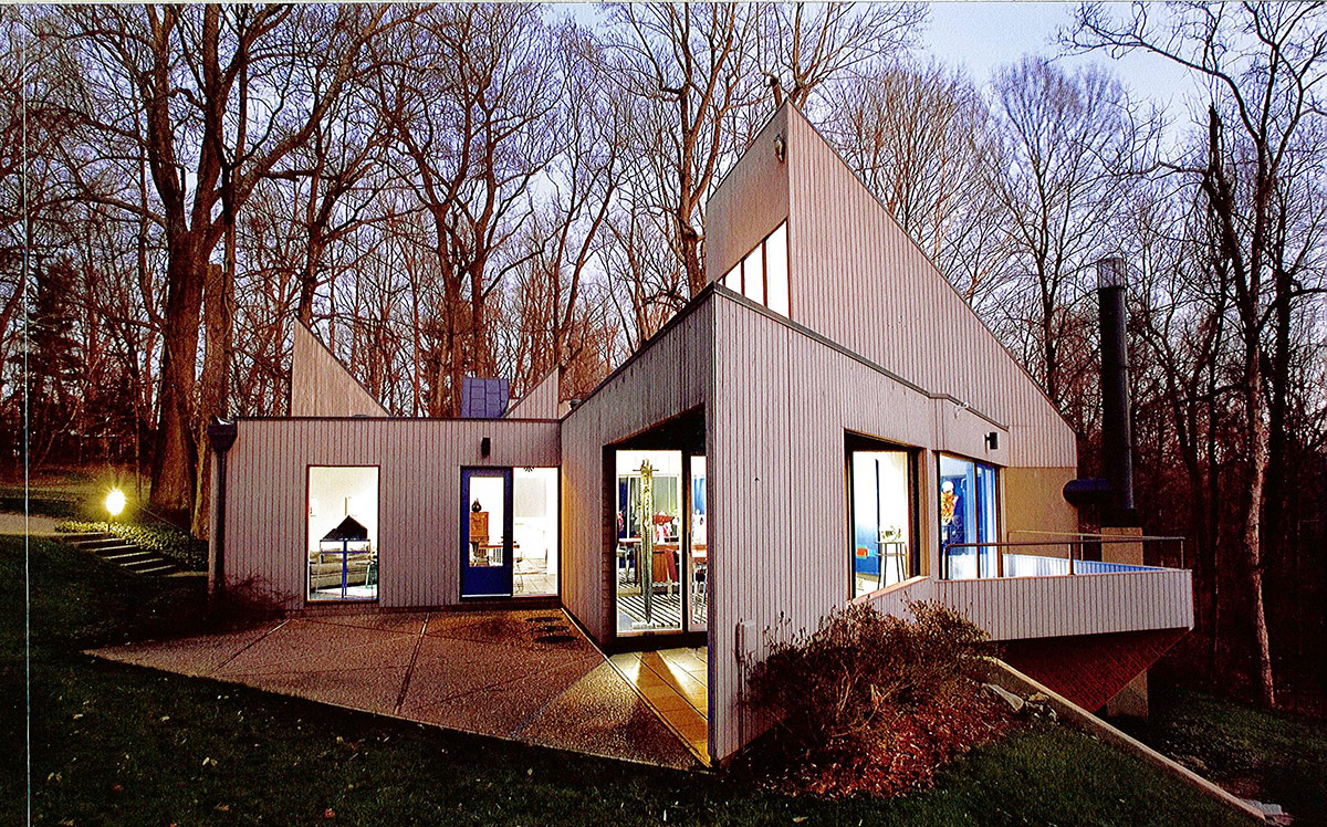 Modern Architecture Louisville Ky best: built in the '60s, the leight house stands among