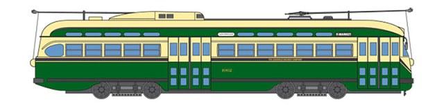 A Louisville Railway Company streetcar. (Courtesy Market Street Railway)
