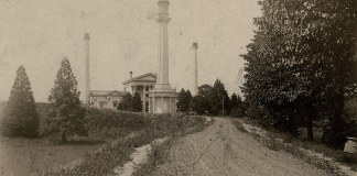 The Louisville Water Company's pumping station at River Road circa 1870-1880. (Courtesy Metro Louisville)