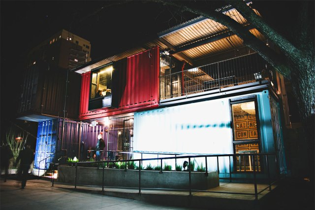 The Container Bar in Austin, Texas. (Courtesy The Container Bar)