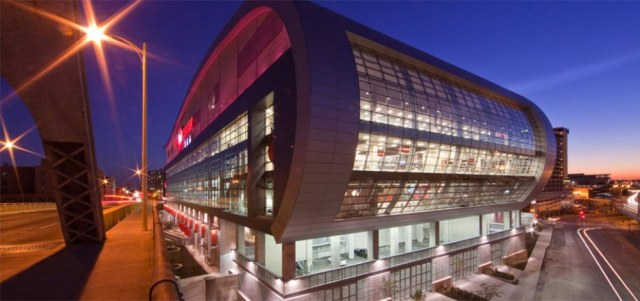 Louisville's KFC Yum! Center. (Populous)