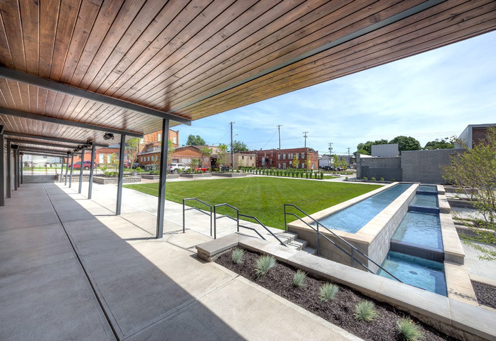 Two louisville projects honored by kentucky landscape for Bc landscape architects