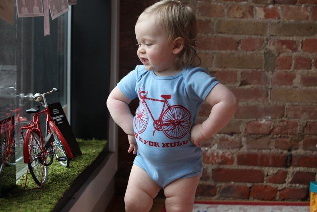 """An """"N is for Nulu"""" onesie. (Courtesy Oso)"""