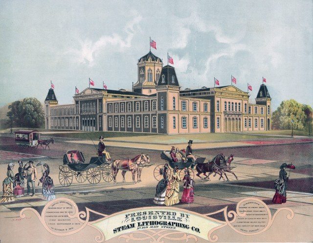 The Louisville Industrial Exposition. (Library of Congress)