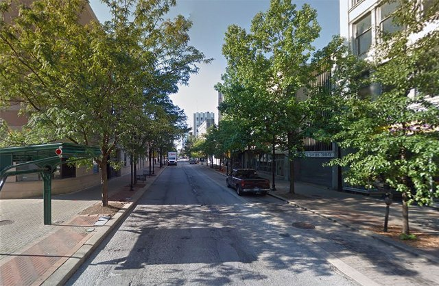 Fourth Street post-transit mall. (Via Google)
