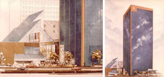 Renderings of the Louisville Galleria. (Courtesy John O'Dowd)