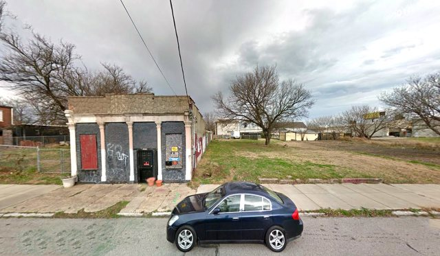 The Healthy House site is now a vacant lot. (Via Google)