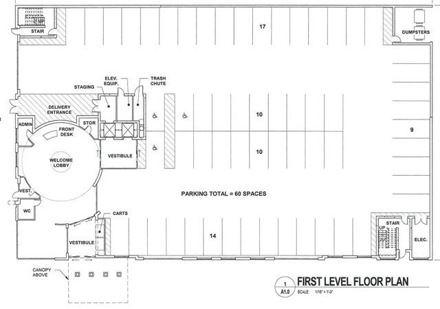 The ground floor plan. (TBD+ Architects)