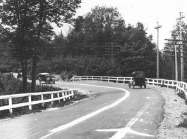 County Road 429 in Michigan, circa 1917. (Courtesy Strong Towns)