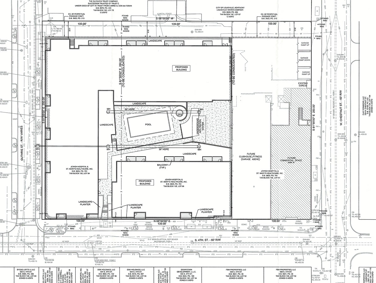 Apartment Building Proposed At Fourth And Guthrie Puts