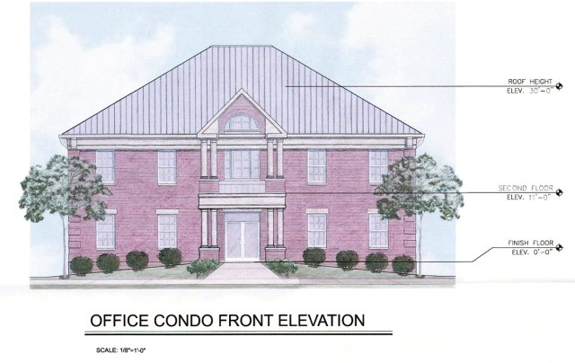 A typical building elevation. (Pinnacle Development / Via Metro Louisville)