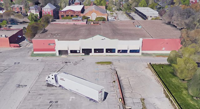 The vacant Winn Dixie building. (Courtesy Google)