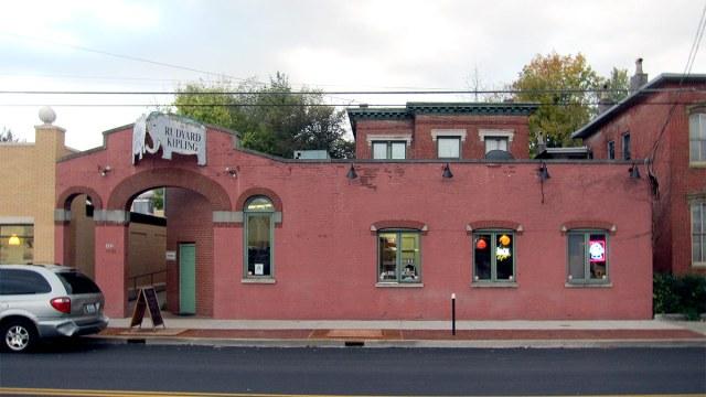 The old Rudyard Kipling is being transformed. (Branden Klayko / Broken Sidewalk)