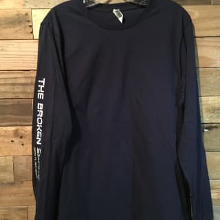 Broken Spoke Long sleeve, Men's Blue