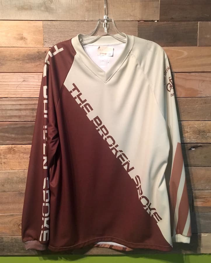 Broken Spoke Jersey DH Brown/Cream