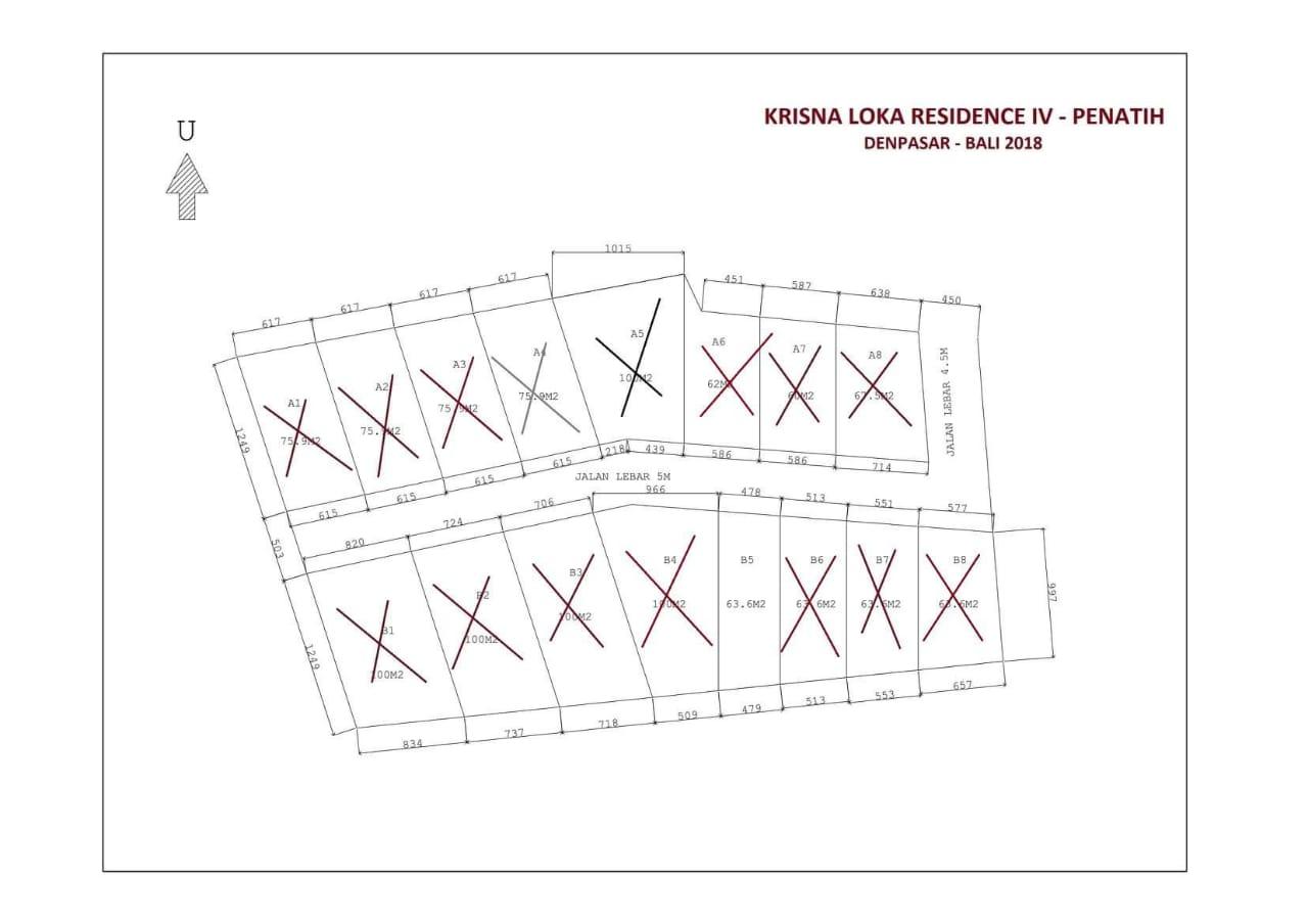 Krisna Loka Residence, Penatih, Denpasar (16 Unit)