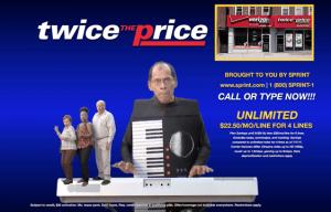 twice the price sprint