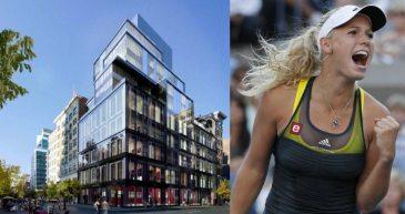 Caroline Wozniacki - 15 Union Square