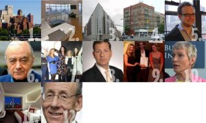 1. Brooklyn View 2. New York Condo Apartment 3. 800 St. Anns Ave. in Bronx, NY 4. 32-unit Multifamily Building at 101 W. 126th St. 5. RentJolt, a Real Estate Website Founded by Avi Dorfman 6. Mohamed Al Fayed Exploring at 75 Rockefeller Plaza 7. Corcoran CEO Pamela Liebman 8. Jason Schwartzenberg, Managing Director at Studley 9. Indiewalls curator Wirth and cofounder Grazi with artist Marysia Schultz 10. Barbara Corcoran, The founder and former CEO of The Corcoran Group 11. Jeremy Lin's new Apartment at the Downtown W Hotel 12. Sthephen M. Ross, Founder, Chairman and CEO of The Related Companies