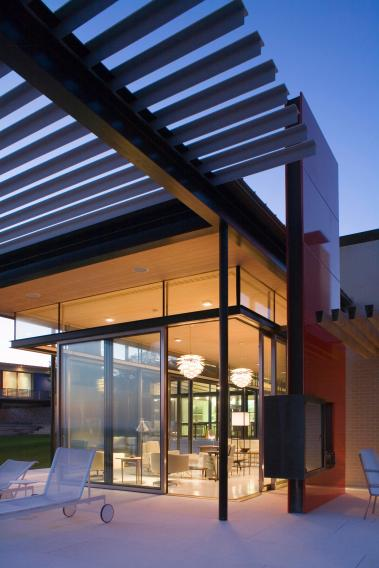 Montauk House and Guest House, Location: Montauk, NY, Architect: James Biber/Pentagram. Image Credit: biber.co