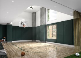 Basketball Court | Photo Credit: 180e88.com