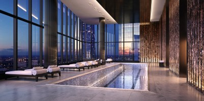125 Greenwich Pool | Photo Credit: 125greenwich.com
