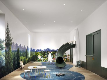 Childrens Playroom | Photo Credit: 180e88.com