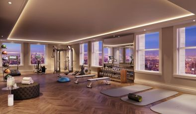 FITNESS CENTER. Photo Credit: thewoolworthtower.com