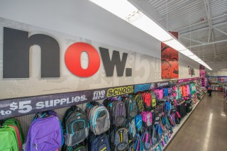 The inside of one of Five Below's existing locations.